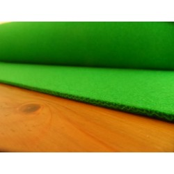 Baize 3 mm green