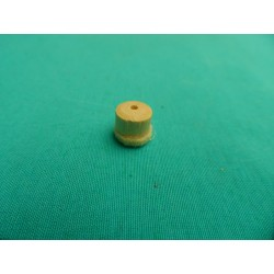 Regulating buttons whit felt