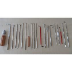 Kit de regulación (20 herramientas)